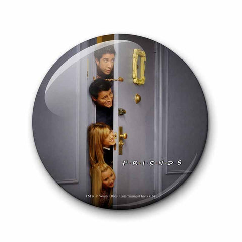 Friends Hiding Behind Door Magnet - Fridge Magnet - Friends - GalaxT