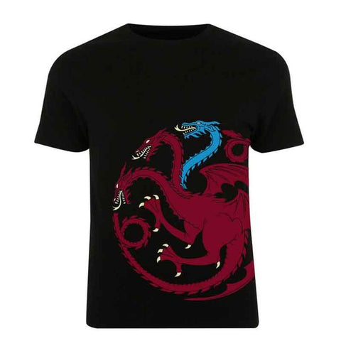 Game Of Thrones T-Shirt : Targaryen Logo - T-Shirts - Game of Thrones - GalaxT