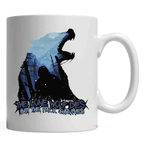 Game Of Thrones : Lone Wolf - Mugs - Game of Thrones - GalaxT