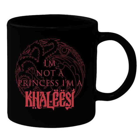 Game of Thrones Khaleesi I m Not Princess Mug - Mug - Game of Thrones - GalaxT