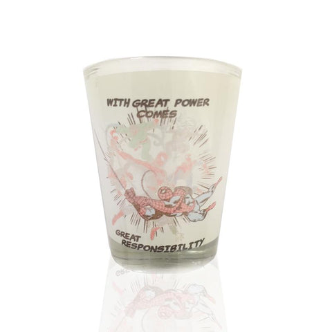 Avengers Spiderman Shot Glass - Mugs - Marvel™ - GalaxT