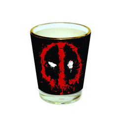 Deadpool Face Shot Glass - Glass - Marvel - GalaxT