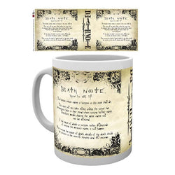 Death Note  Rules  Mug - Mug - Manga - GalaxT