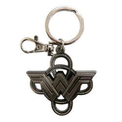 Wonder Woman : Logo With Lasso Pewter - Keychains - DC Comics™ - GalaxT