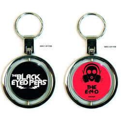 Black Eyed Peas Spinner Keychain - Keychain - Black Eyed Peas - GalaxT