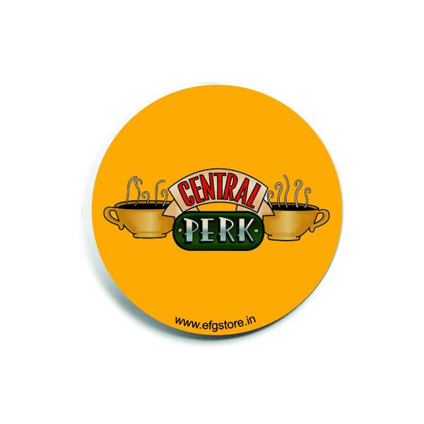 Friends Central Perk Yellow Badge - Badges - Friends - GalaxT