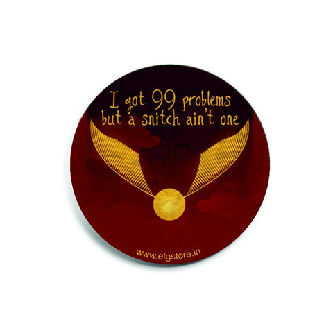 Snitch | Harry Potter Badge | GalaxT
