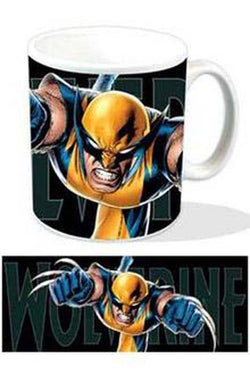 Wolverine Leaping Mug - Mug - Marvel - GalaxT