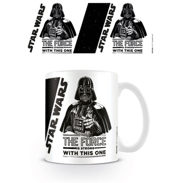 Star Wars The Force Is Strong Coffee Mug - Mug - Star Wars - GalaxT