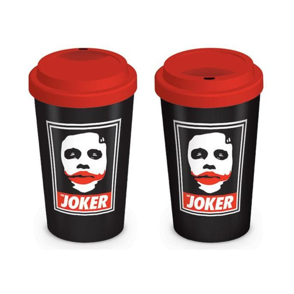 The Dark Knight Obey The Joker Travel Mug - Mug - DC Comics - GalaxT