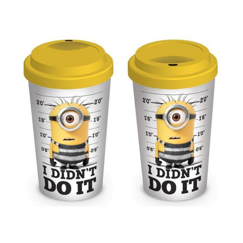 Despicable Me 3 I Didn't Do It Travel Mug - Mugs - Despicable Me - GalaxT