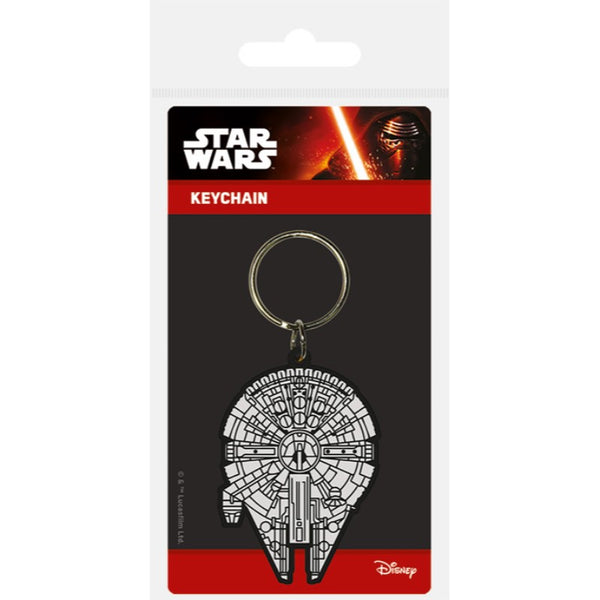 Star Wars Millennium Falcon Keychain - Keychain - Star Wars - GalaxT