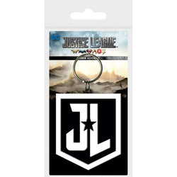 Justice League Shield Keychain - Keychain - DC Comics - GalaxT