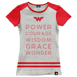 Slogan | Wonder Woman T-Shirt | GalaxT