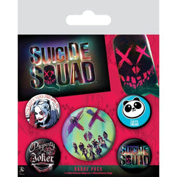 Skulls| Sucide Squad Badge | GalaxT