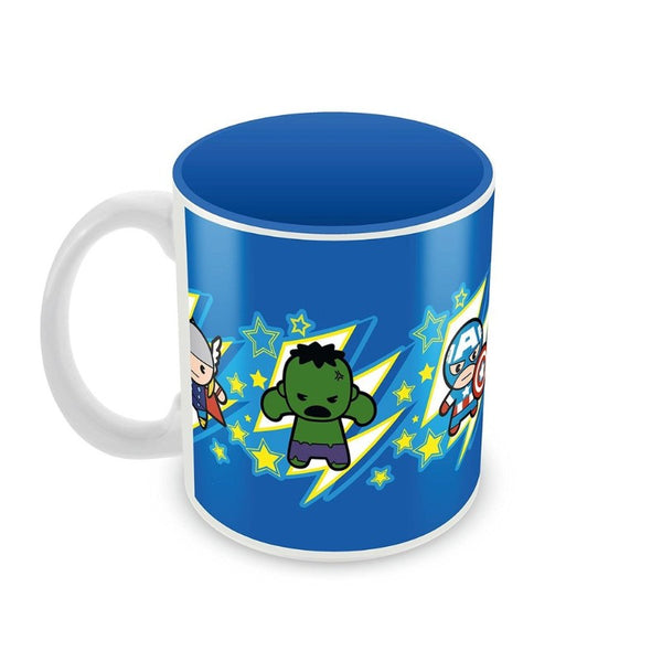 Avengers Team Kawaii Art Mug