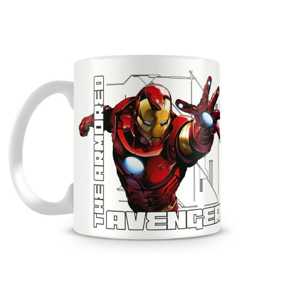 The Armored Avenger Mug