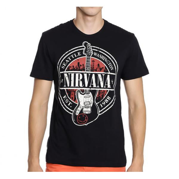 Guitar | Nirvana T-Shirt | GalaxT