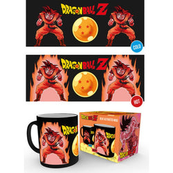 Dragon Ball Z Super Saiyans Heat Change Mug - Mug - Manga - GalaxT