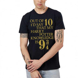 Harry Potter T-Shirt : Knowledge 9 ¾ - T-Shirts - Harry Potter - GalaxT