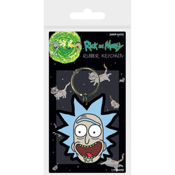 Rick And Morty : Rick Crazy Smile - Keychains - Rick and Morty - GalaxT