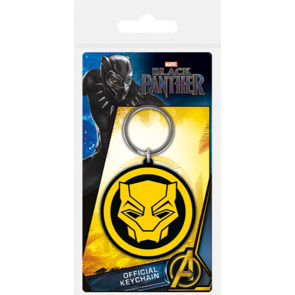 Logo | Black Panther Keychain | GalaxT