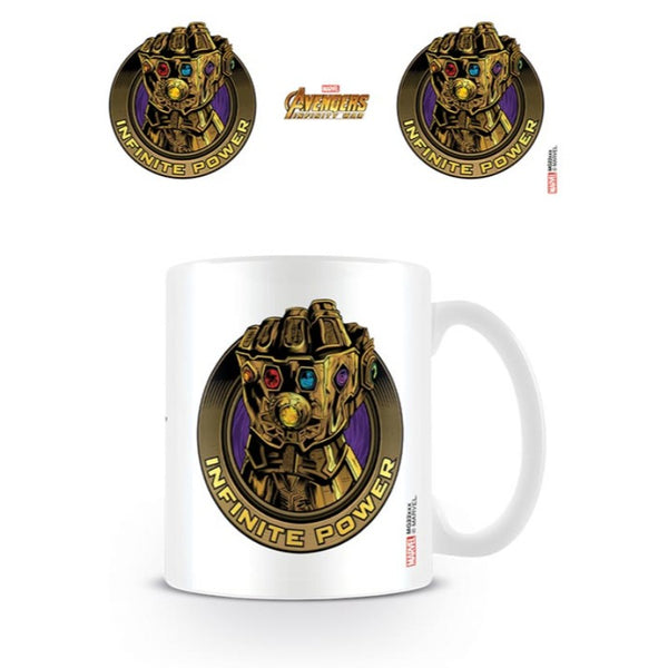 Avengers Infinity War : Infinite Power - Mugs - Marvel™ - GalaxT