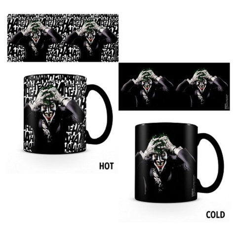 The Joker Mug : Heat Changing - Mugs - DC Comics™ - GalaxT