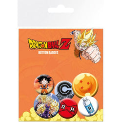 Dragon Ball Z Mix Badge Pack - Badges - Manga - GalaxT