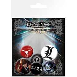 Death Note Mix Badge Pack - Badges - Manga - GalaxT