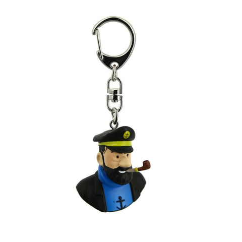 The Captain Haddock | Tintin Keychain | GalaxT