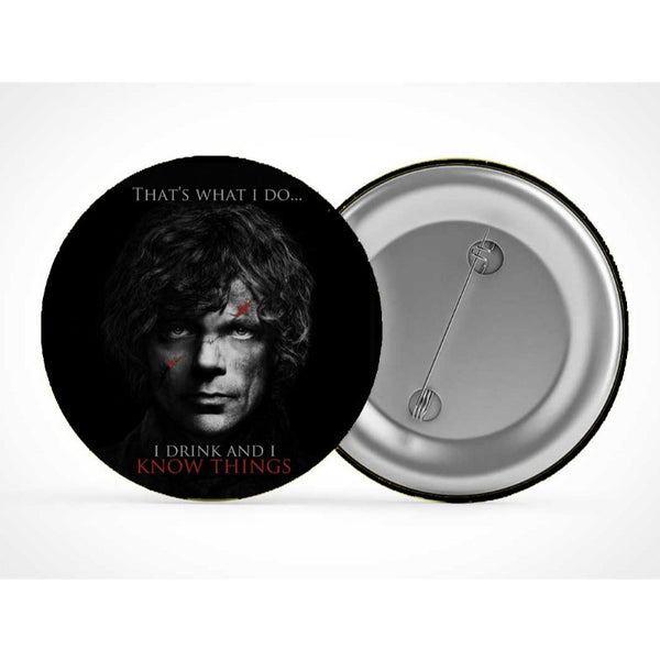 Game Of Thrones : Tyrion - Badges - Game of Thrones - GalaxT