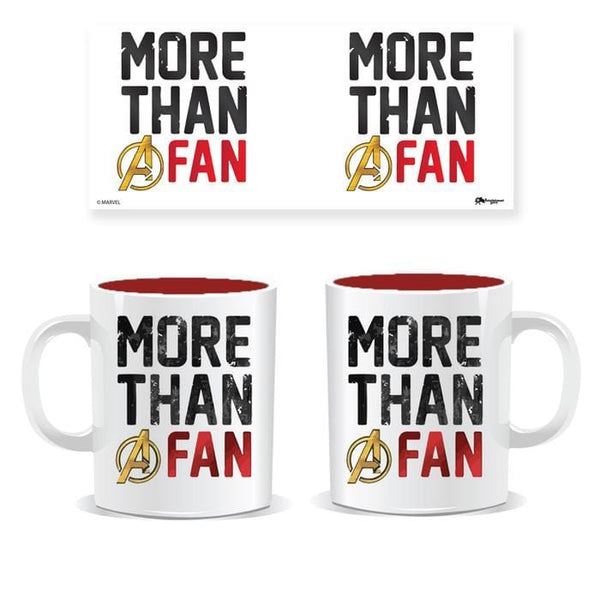 Marvel™ Mugs Avengers Mug : More Than A Fan