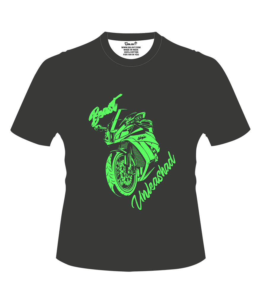 Beast Unleashed T-Shirt - Bike India - GalaxT