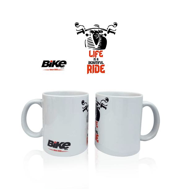 Life Is A Beautiful Ride! Mug - Bike India - GalaxT