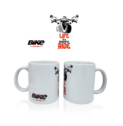 Bike India Mugs Bike India Mug : Life Is A Beautiful Ride!