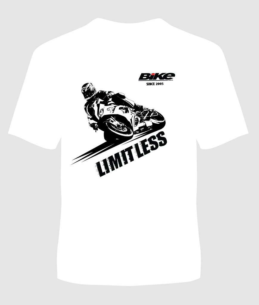 Limitless T-Shirt - Bike India - GalaxT