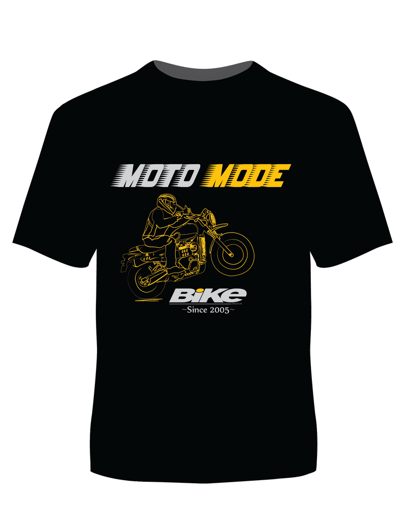 Moto Mode T-Shirt - Bike India - GalaxT