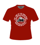 Bike India T-Shirts Bike India T-Shirt : The Lure Of The Open Road, Never Goes Out Of Style