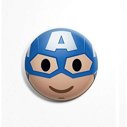 Avengers Captain America Face Badge - Marvel™ - GalaxT