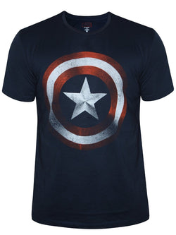Captain America T-Shirt : Classic Logo - T-Shirts - Marvel™ - GalaxT