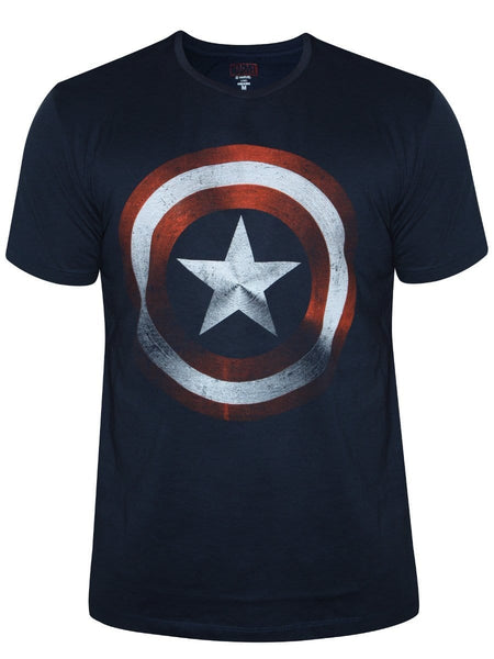 Classic Logo | Captain America T-Shirt | GalaxT