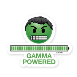Marvel™ Stickers Hulk Sticker : Gamma Powered