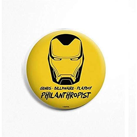 Avengers Iron Man Quote Badge - Marvel™ - GalaxT