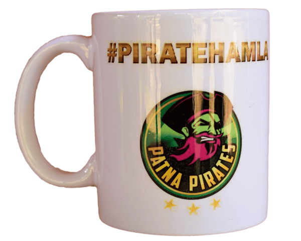 Patna Pirates Mug : Pirate Logo - Mugs - Patna Pirates - GalaxT