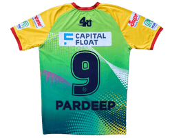 Patna Pirates Jerseys Patna Pirates Jersey : Pardeep Name & Number