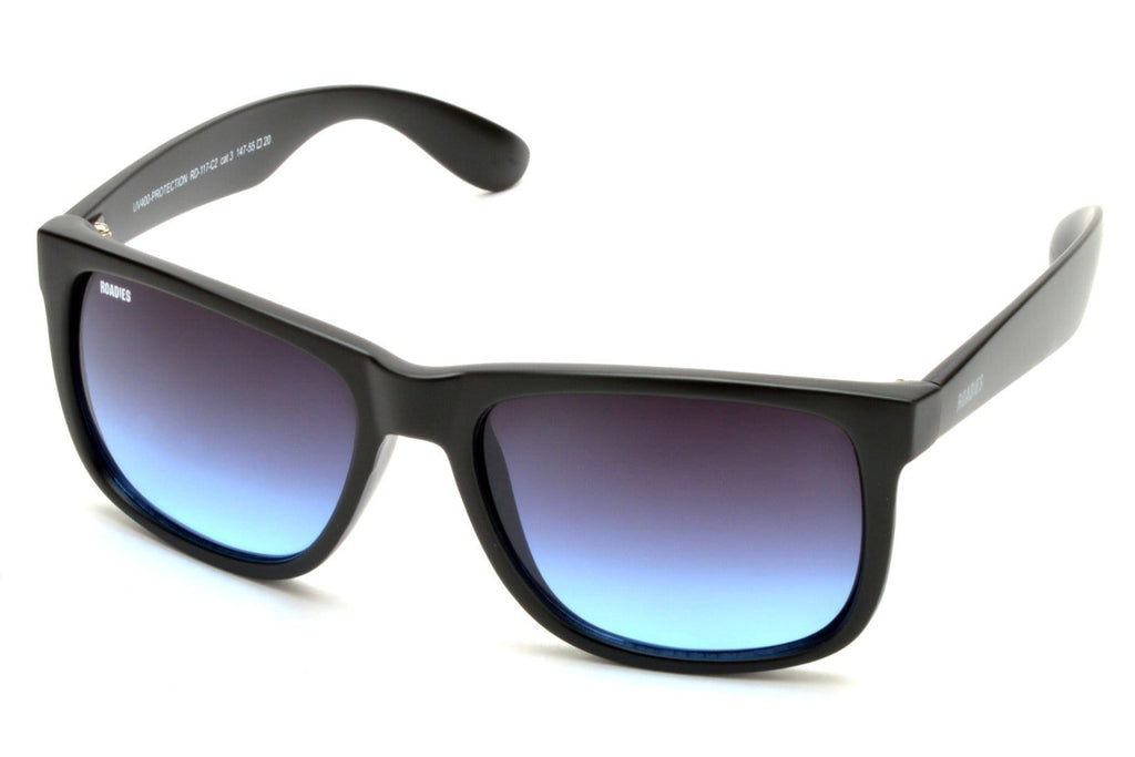Roadies Sunglasses One Size Roadies Wayfarer Sunglasses : Style Code 117-C2