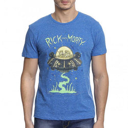 Rick And Morty T-Shirt : Spaceship - T-Shirts - Rick and Morty - GalaxT