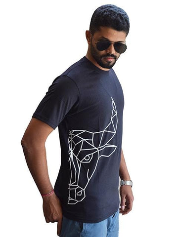 Half Faced Bull | Bengaluru Bulls T-Shirt | GalaxT