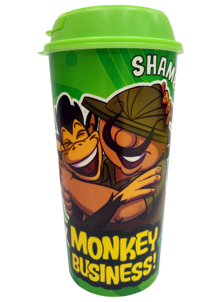 Shikkari Shambu Monkey Business Plastic Sipper